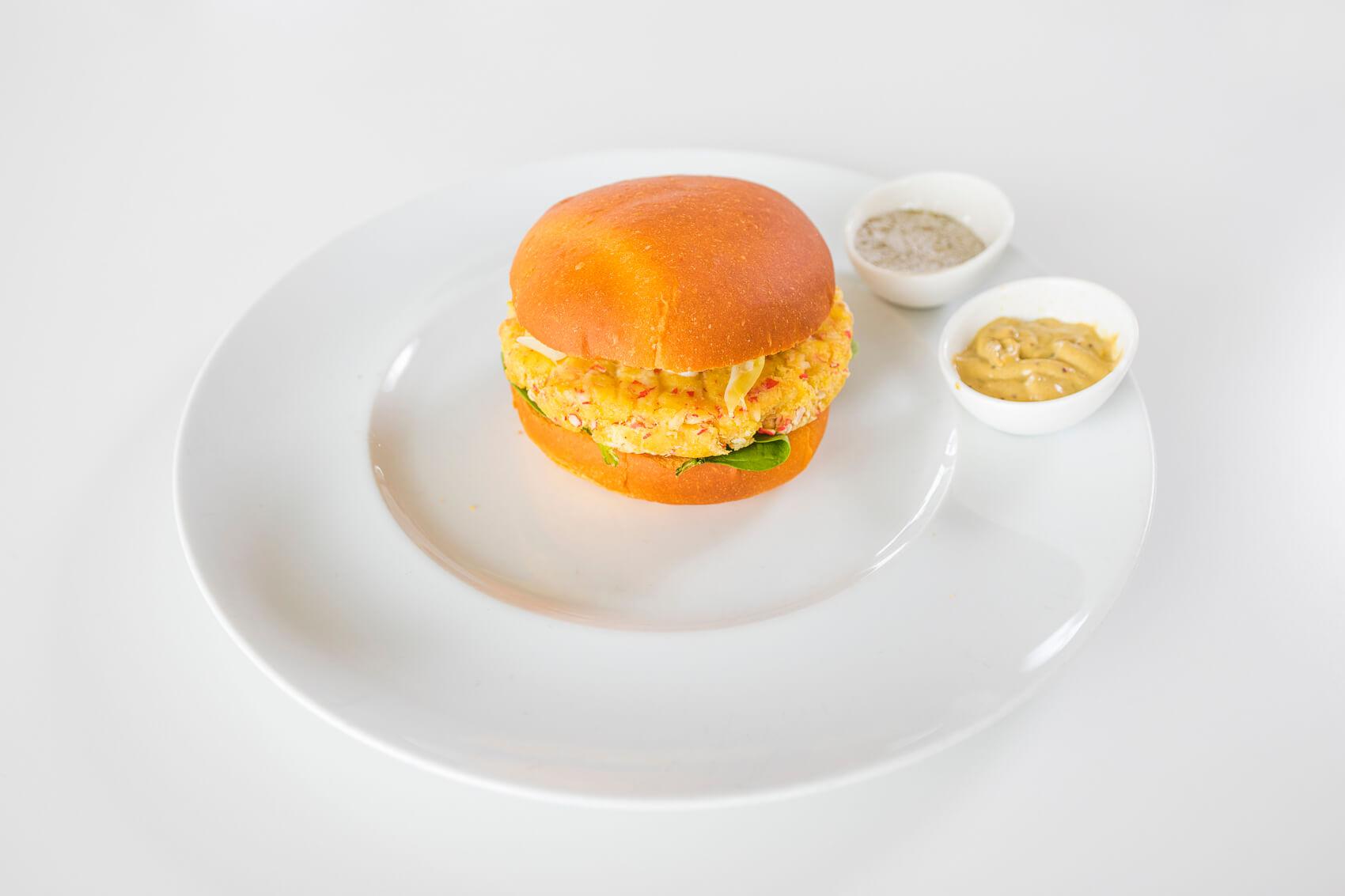 Red King Crab Burger