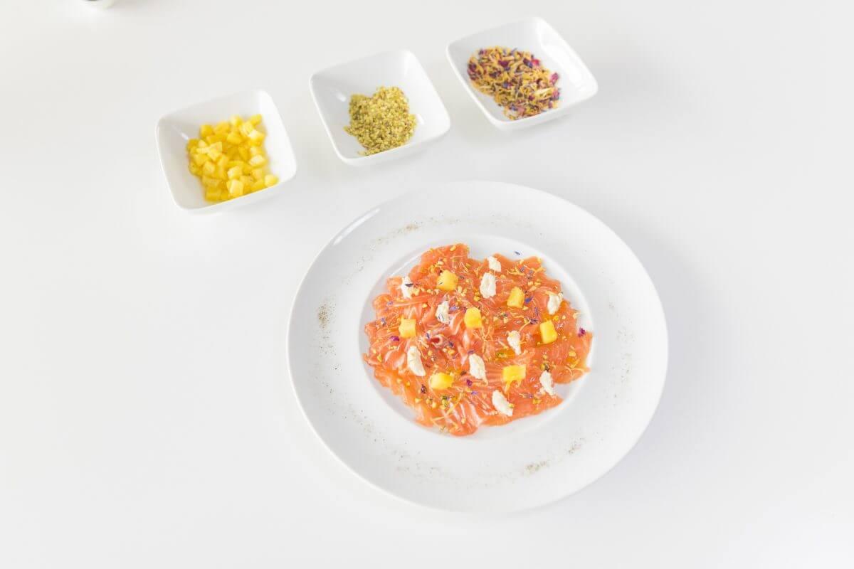 Salmone marinato homemade